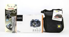 Sony Cyber-shot DSC-H300 Digital Camera Bundle -20.1MP- 35X Optical Zoom - Black