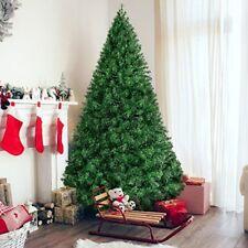 Christmas Premium Artificial Pine Tree Hinged 6 Ft Metal Legs Green 1000 Tips
