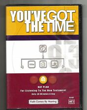 YOU'VE GOT THE TIME (1996, CD MP3) NAB New Testament Day Plan: Christianity