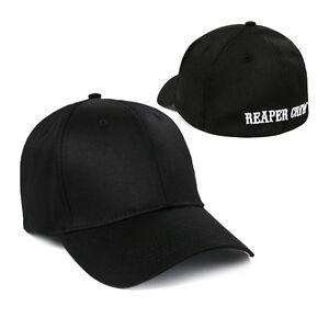 Adult Biker TV Show SOA Sons of Anarchy Reaper Crew Baseball Cap Hat Cosplay New
