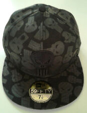 New Era 59Fifty Punisher All Over Logo Fitted Hat-New Old Stock - 7 1/8- 2009