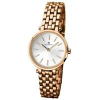 Accurist Rose Gold Plated Ladies Watch 8095