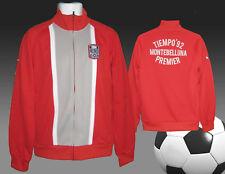 NEU Nike Tiempo Montebelluna Premier Fußball Line-Up Jacke NWT rot Erwachsene M