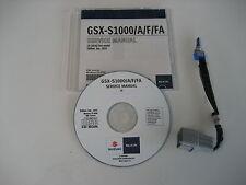 Suzuki GSX-s 1000 + ABS diagnostic réparation cd manuel atelier service manual
