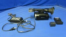 Sony NEX-VG10 E-Mount Handycam Camcorder w/ Adapter, Charger, (NO Lens)
