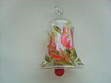 Glocke Ostern Glas Lauscha Handmalerei Glasbläser Dekoart mundgeblasen