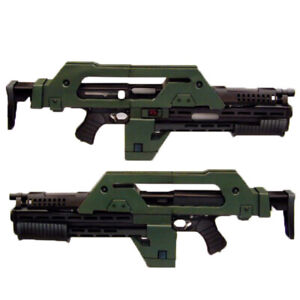New DIY 85cm(L) 1/1 Scale M41-A Pulse Assault Rifle 3D Paper Model Puzzle Kit