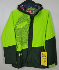 UNDER ARMOUR STORM SPECIALTY SOFTSHELL SKI JACKET GREEN 1220661-308 (SIZE SMALL)