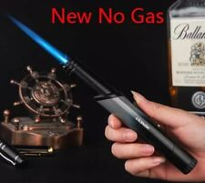 (Lighter No gas) Honest metal torch Jet windproof Butane gas Inflatable *Random*