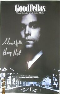 "HENRY HILL THE ORIGINAL GOODFELLA  ""GOODFELLAS"" SIGNED POSTER 11X17"