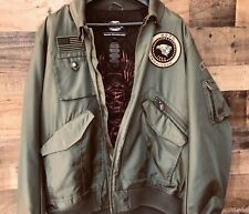 Harley Davidson Military Style Bomber 97512-12VM Jacket XL Pre-owned Excellent