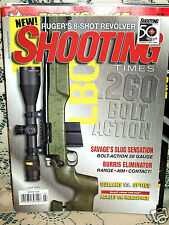 SHOOTING TIMES 7/2010~RUGER 8-SHOT REVOLVER~SAVAGE BOLT 20ga~ARSENAL SLR95~SAIGA
