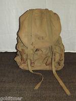 VINTAGE WWII GI SOLDIER METAL FRAME BACK PACK