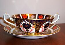 Royal Crown Derby OLD IMARI Cream Soup & Saucer Set