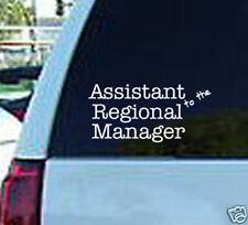 The office regional manager decal vinyl sticker logo tv