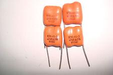 6800pF 5/% 500V silver-mica capacitors K31-11 Lot of 40