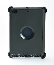 Defender iPad Mini 3 2 1 Rugged Hard Shell w Stand Cover fit Otterbox Case Black
