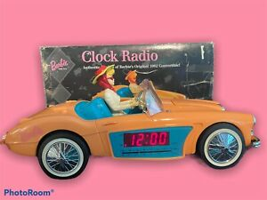 MATTEL BARBIE 1996 Austin Healy Model 1962 Car Alarm Clock Radio NIB! WORKS!