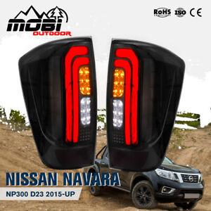 MOBI LED Tail Rear Lamp Lights For NISSAN NAVARA NP300 D23 2015-UP Plug & Play
