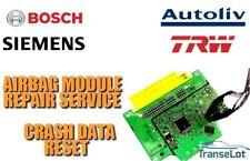 INFINITI G37 G35 98820JK800 AIRBAG ECU SRS MODULE CRASH DATA RESET SERVICE