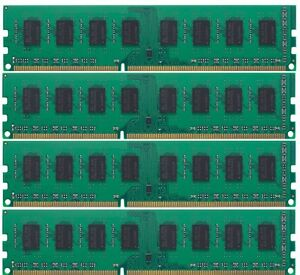 16GB (4x4GB) Memory DDR3-1600MHz PC3-12800 DIMM For HP Compaq Pro 6305 By RK