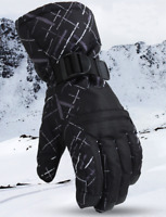 New Mens Snow Ski Gloves Waterproof Insulated Motorbike Winter Sports Gloves