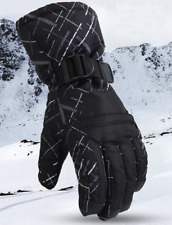 New Mens Snow Ski Gloves Waterproof Insulated Motorbike Winter Sports Gloves