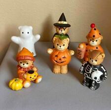 Enesco Lucy & Me Set of 6 Halloween Lucy Rigg Figurines, Excellent!