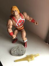 THUNDER PUNCH HE-MAN 1985 Mattel Figure Masters of The Universe MOTU Wave 4