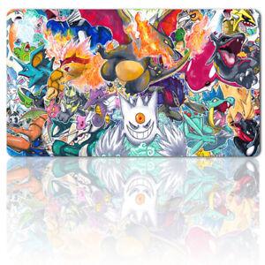 9mxrgk - Board Game Pokemon Playmat Games Mousepad Play Mat of TCG