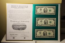 $2 1995 COMPLETE 12 NOTE MATCHING PREMIUM STAR DISTRICT SET LOW # 62 !!
