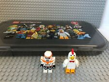 LEGO Minifigures Series 9 Set - 2 of 16 Minifigs and Box - Chicken and Star Wars