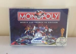 MONOPOLY - FOOTBALL WORLD CUP FRANCE 1998 EDITION - NEW AND SEALED