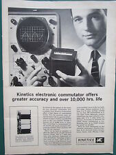 1/1960 PUB KINETICS ELECTRONIC COMMUTATOR / JANITROL AIRCRAFT MIDLAND-ROSS AD