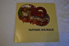 Tim Hart & Maddy Prior Summer Solstice LP 1976 Mooncrest Crest-12