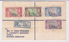 Southern Rhodesia Stamps 1937 Coronation Souvenir Cover Postal History