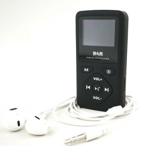 Digital FM Radio LCD Display Bluetooth Muisic MP3 Player + Earphone Charger UK