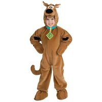 Scooby Doo Costume Boys Toddler & Kids Child Size Cartoon Dog Plush Jumpsuit.