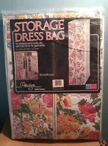 Whitmor Prestige  Spring Bouquet Storage Dress Bag    USA    New