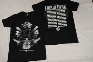 LINKIN PARK A THOUSAND SUNS WORLD TOUR 2010 T SHIRT NEW OFFICIAL RARE