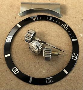 Vintage Rolex/Tudor Submariner Crowns & Bezel Insert/580 End Piece