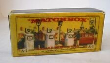 Repro Box Matchbox Accessory Pack A-1 Garage Pumps and Sign