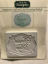 KATY SUE DESIGNS CRAFT AND CAKE DECORATING SILICONE MOULD SPECIAL DAY  WEDDING