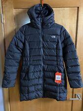 The North Face Women's Gotham II TNF Black Parka Coat Size M Medium NWT
