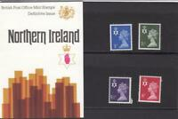 GB 1974 NORTHERN IRELAND DEFINITIVE MACHIN PRESENTATION PACK No.61 3p to 8p MINT