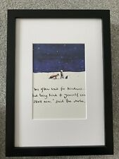 Charlie Mackesy FRAMED print book extracts from The Boy, The Fox ..and The Horse