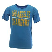 Los Angeles Chargers Official NFL Kids Youth Size Athletic T-Shirt New with Tags