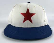 Detroit Stars American Needle Fitted Hat 7 1/8 - Negro League White Blue Red