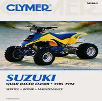 Clymer Repair Service Shop Manual Suzuki LT250R 85,86,87,88,89,90-92 Quad M380-2