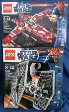 LEGO 9497 & 9492 TIE Fighter & Republic Striker-class Starfighter